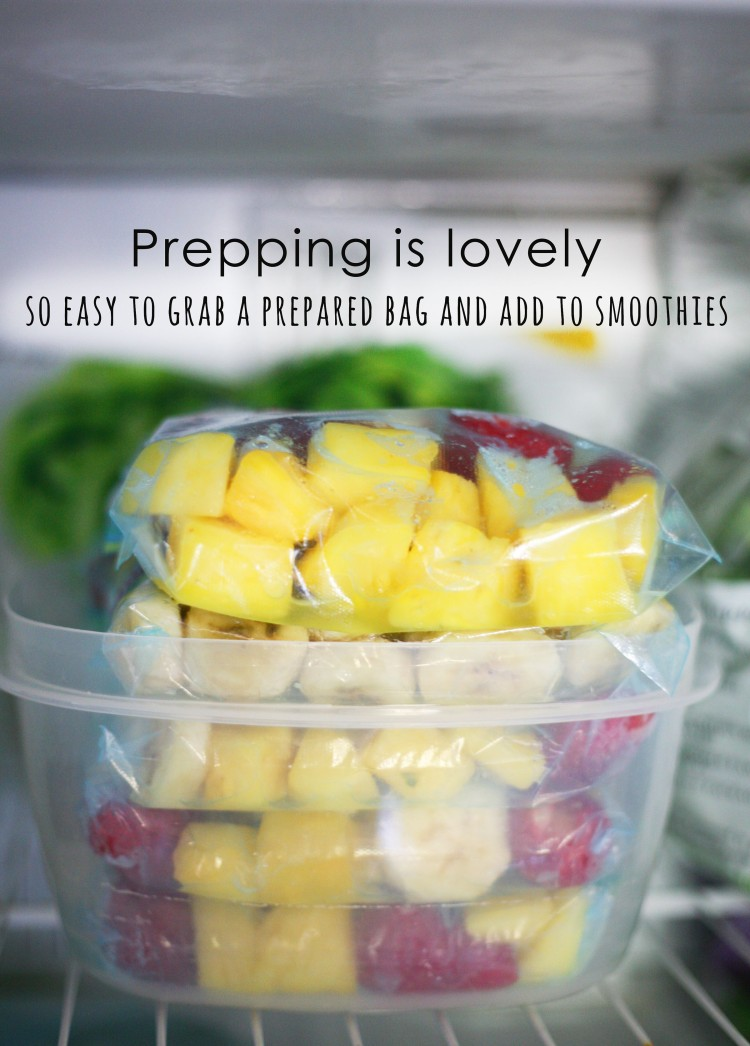 prepping is lovely